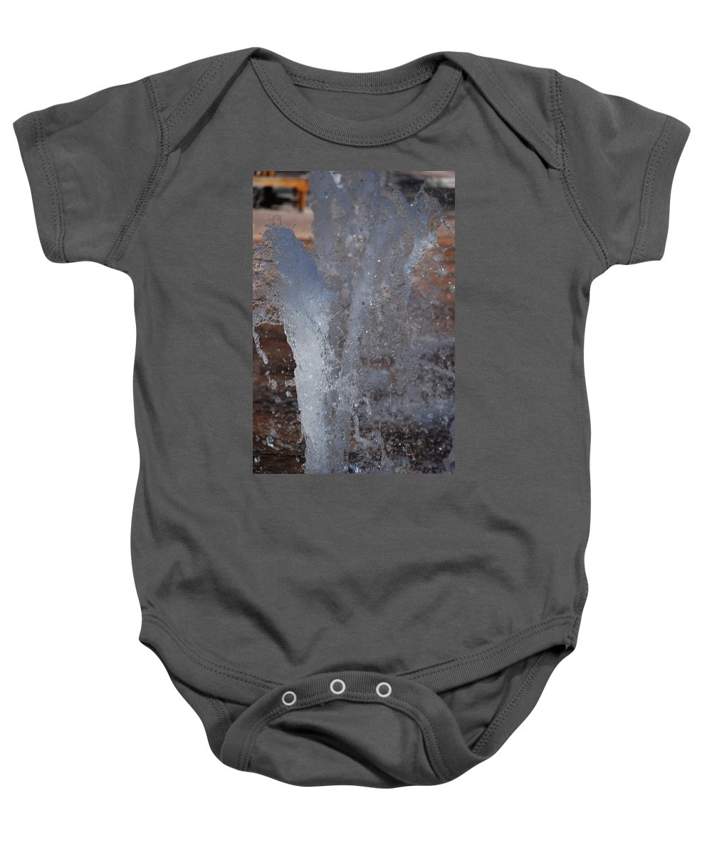 Water Baby Onesie featuring the photograph Splash by Rob Hans
