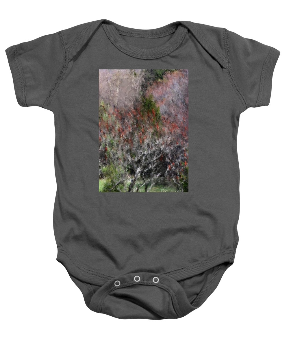 Spring Baby Onesie featuring the photograph Spring At The Hacienda by David Lane