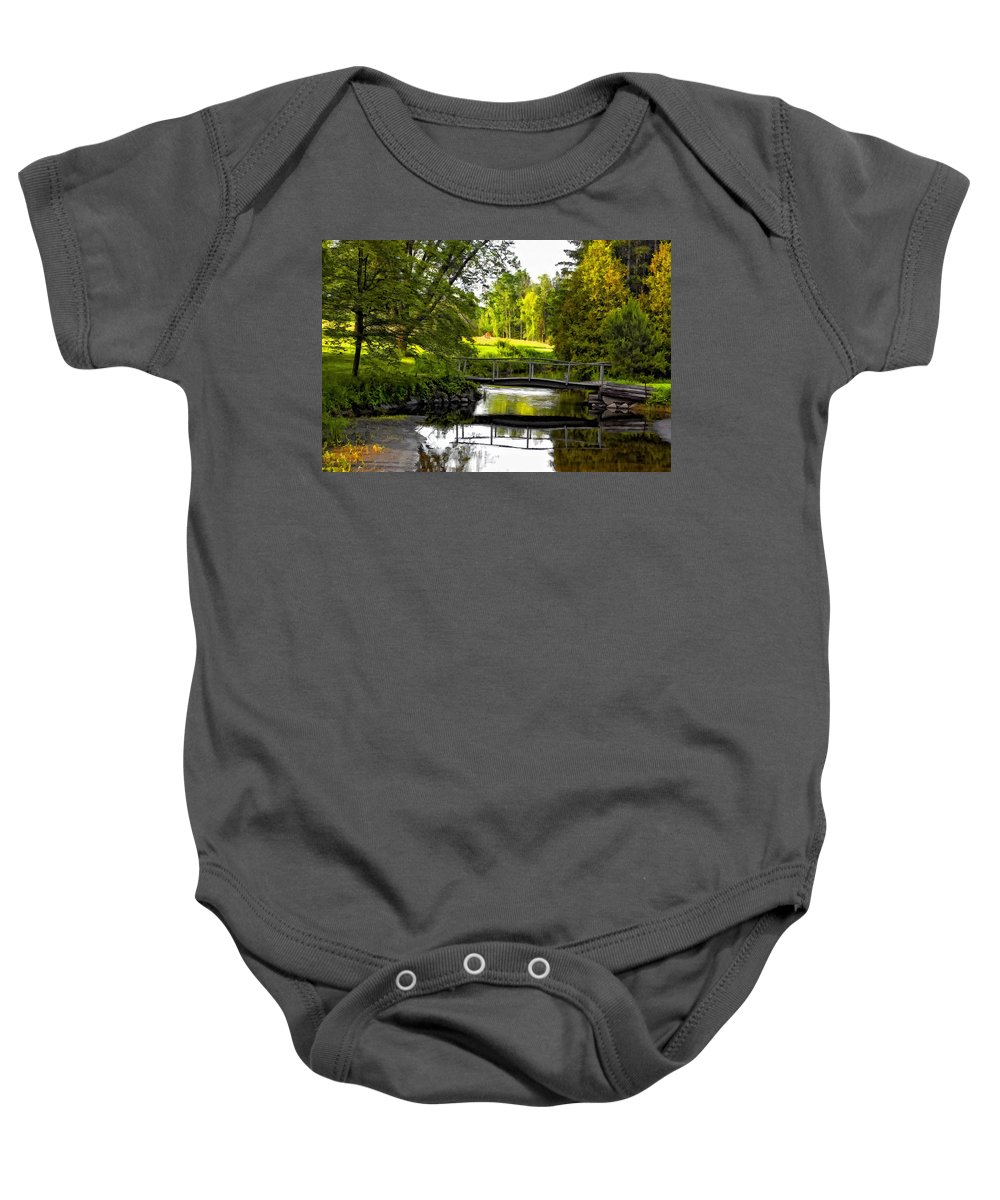 Landscape Baby Onesie featuring the photograph Spring Becomes The Summer by Steve Harrington