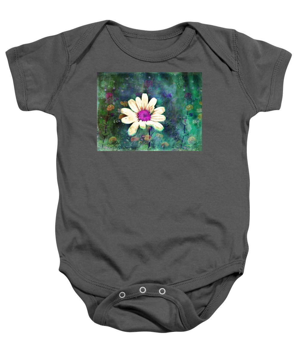 Wall Art Baby Onesie featuring the photograph Spring Daydreams by Tara Turner