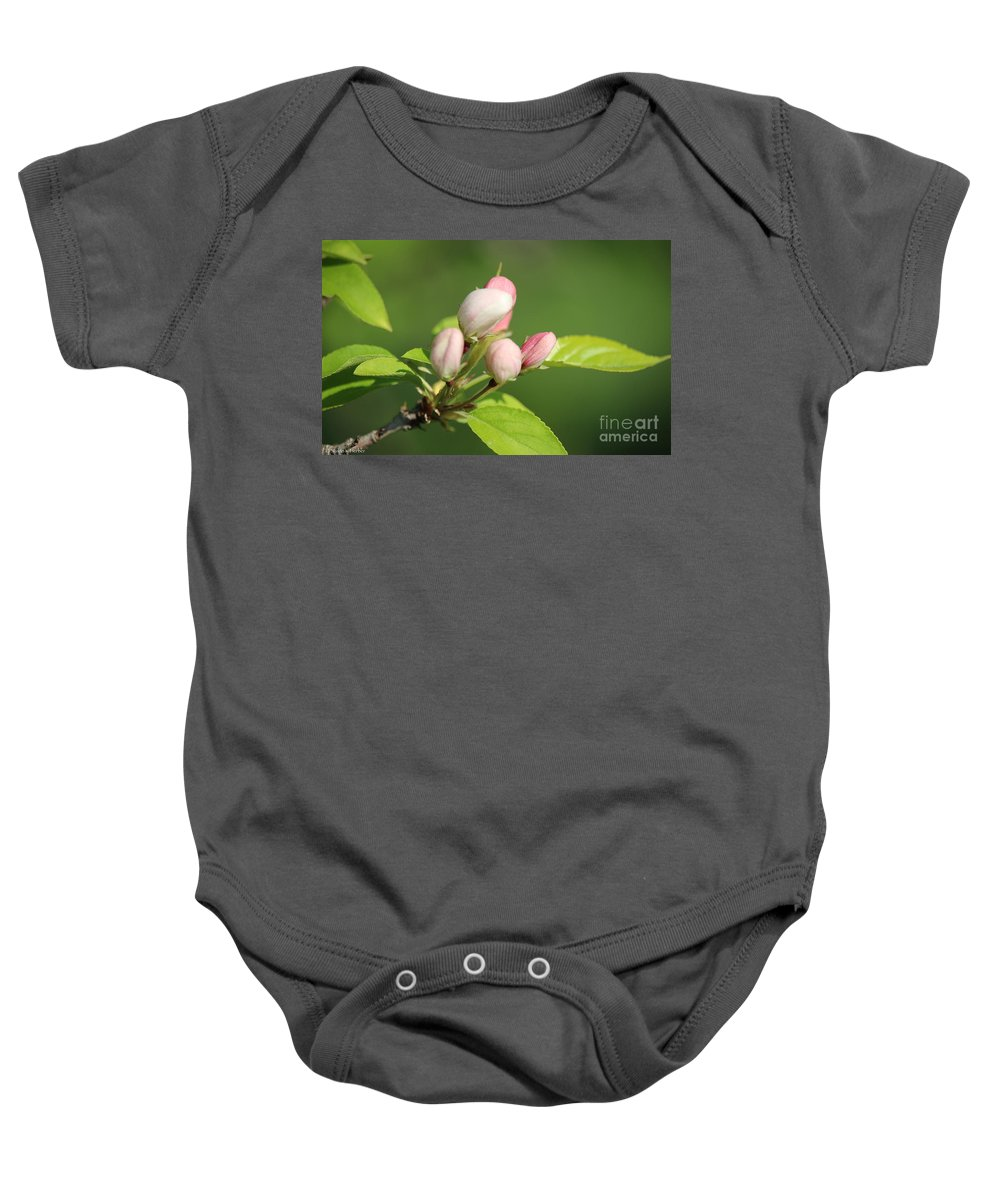 Flower Baby Onesie featuring the photograph Spring Highlights by Susan Herber