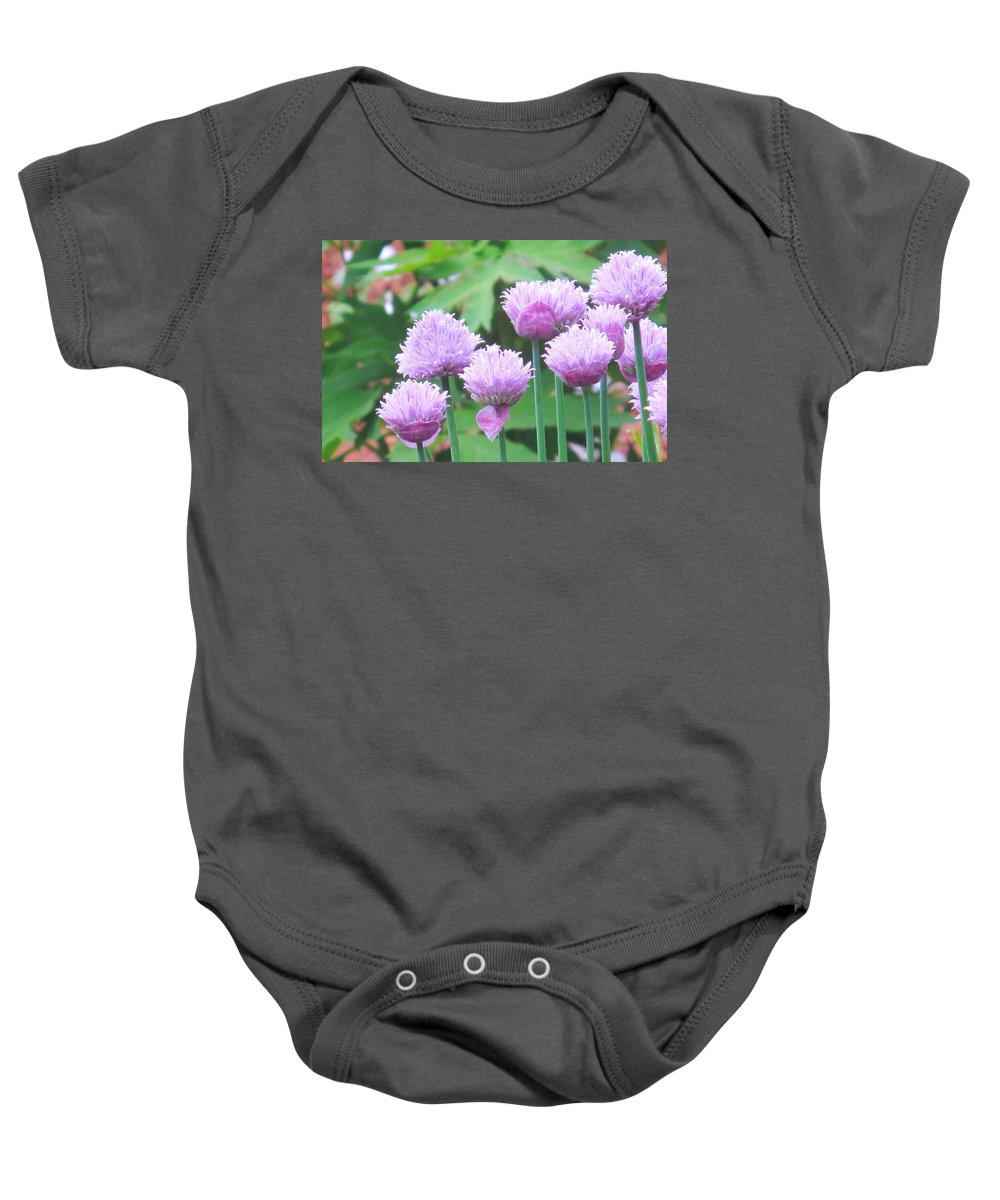 Flower Baby Onesie featuring the photograph Stand Tall by Ian MacDonald