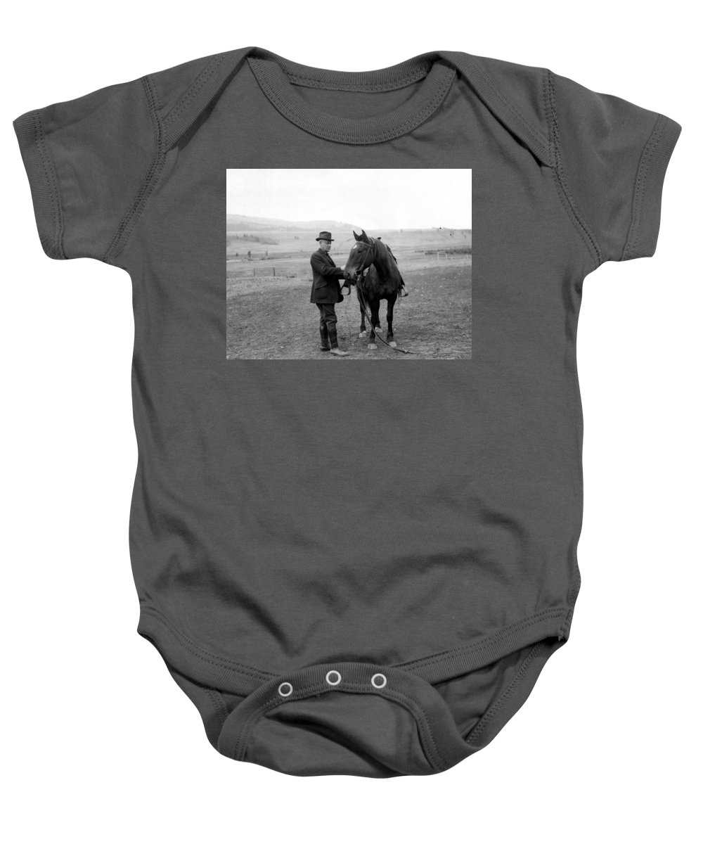 1920 Baby Onesie featuring the photograph Stephen Mather (1867-1930) by Granger