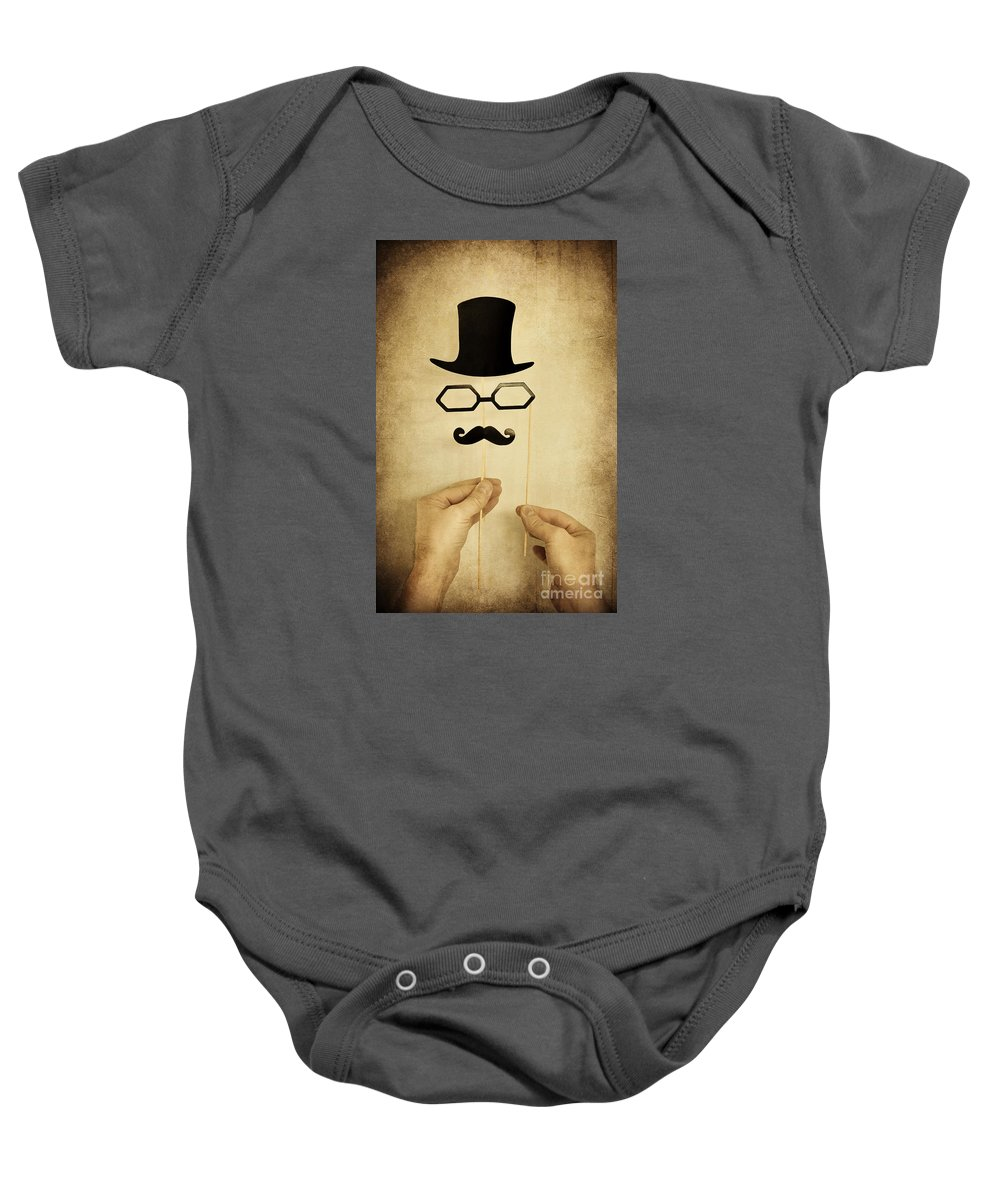 Action Baby Onesie featuring the photograph Stranger by Svetlana Sewell