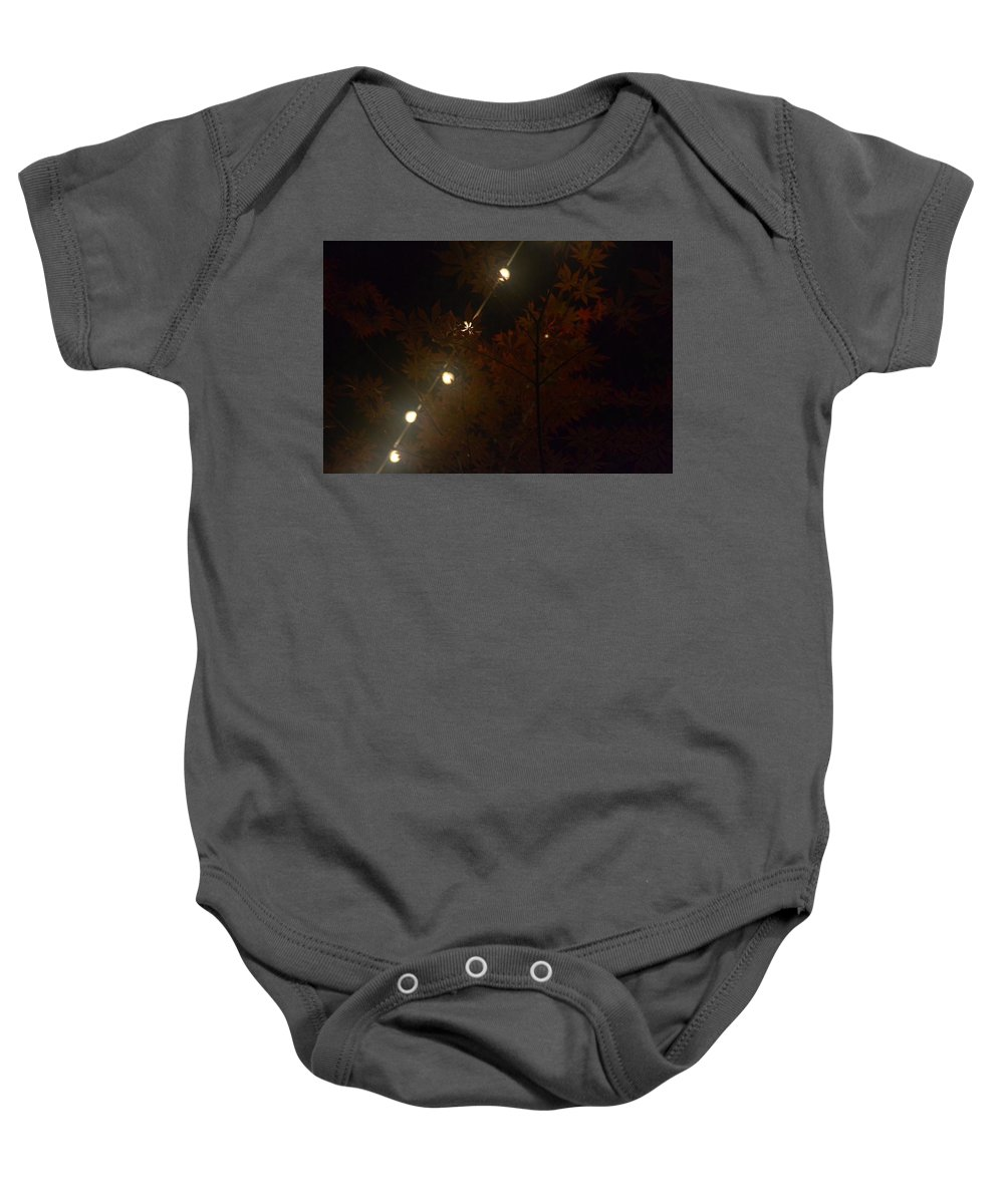 Landscape Baby Onesie featuring the photograph Summer Backyard by Gabrielle Smith