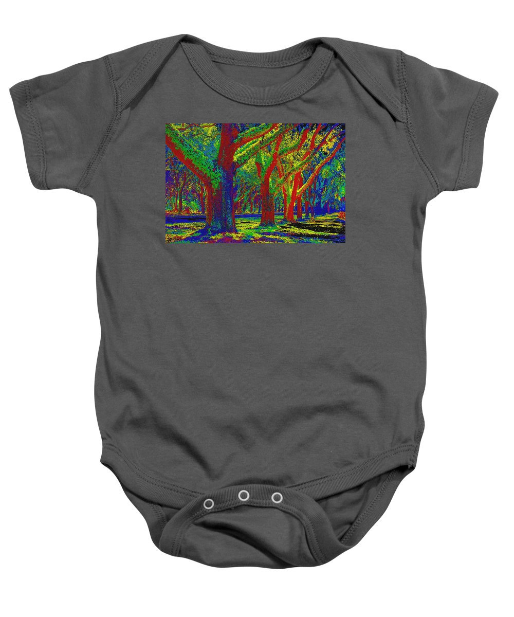 Impressionism Baby Onesie featuring the photograph Summer Dreams by Carol Groenen