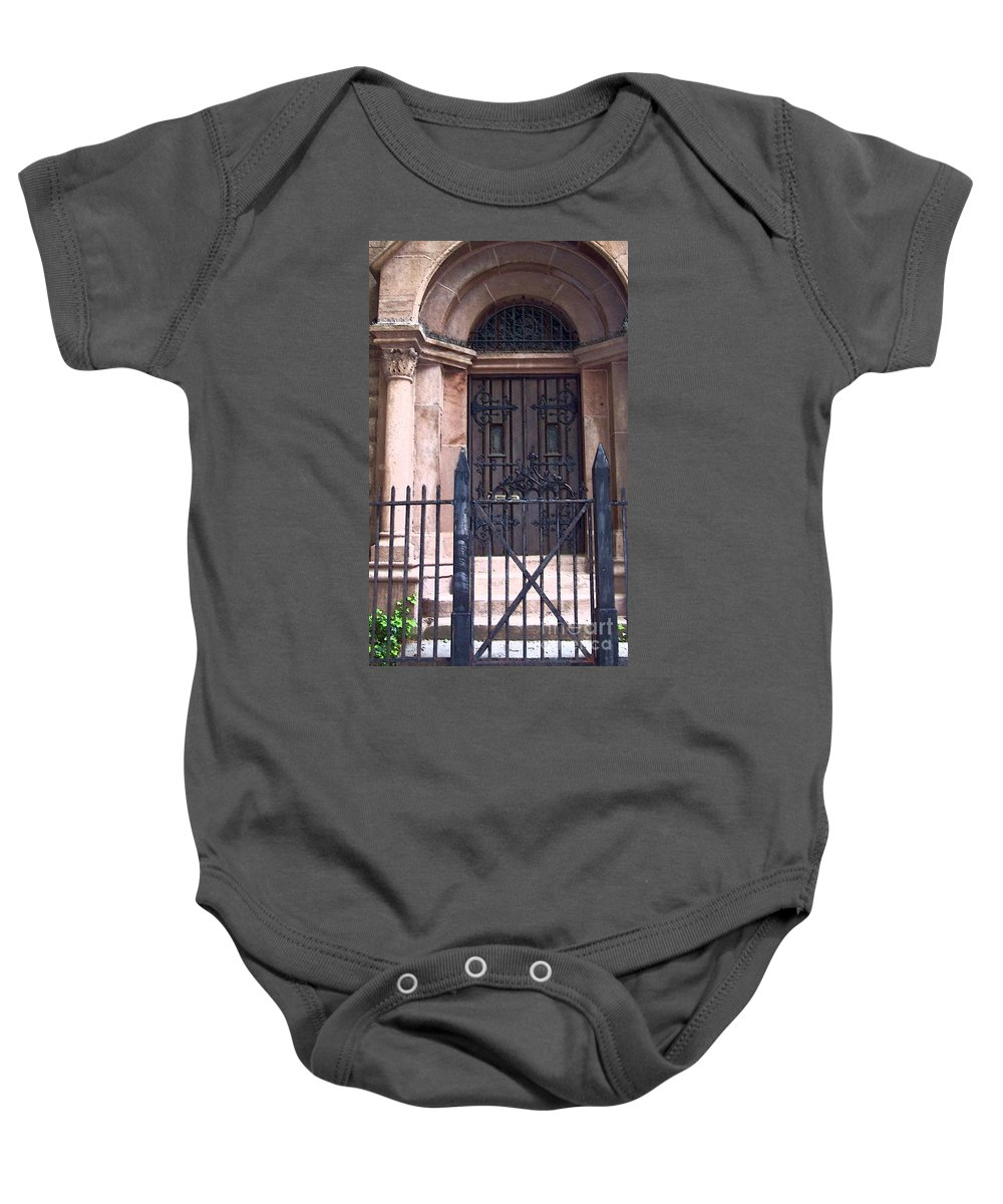 Church Baby Onesie featuring the photograph Sunday by Debbi Granruth
