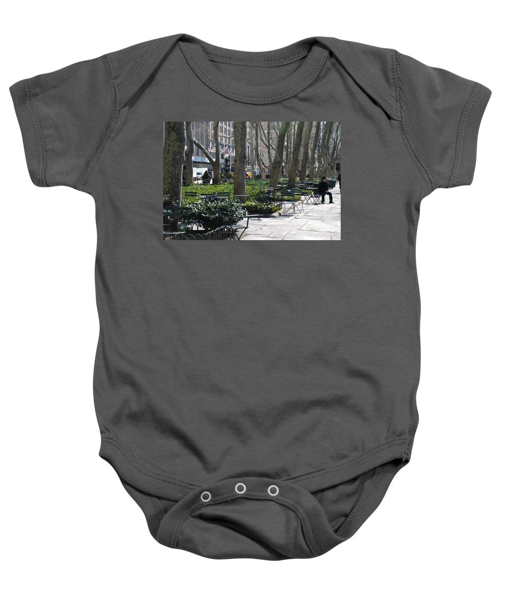 Parks Baby Onesie featuring the photograph Sunny Morning In The Park by Rob Hans