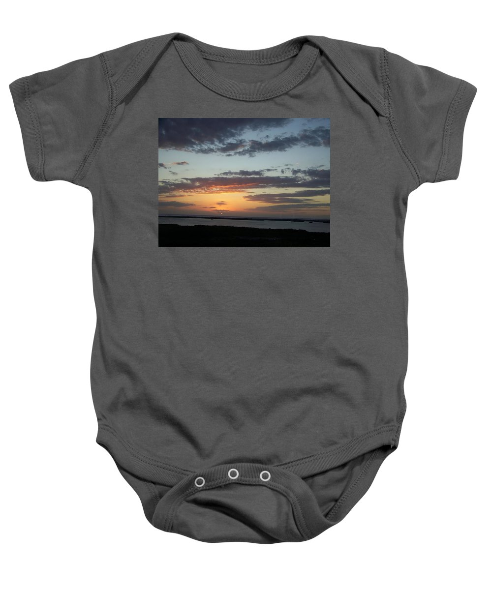 Sunset Baby Onesie featuring the photograph Sunset 0008 by Laurie Paci