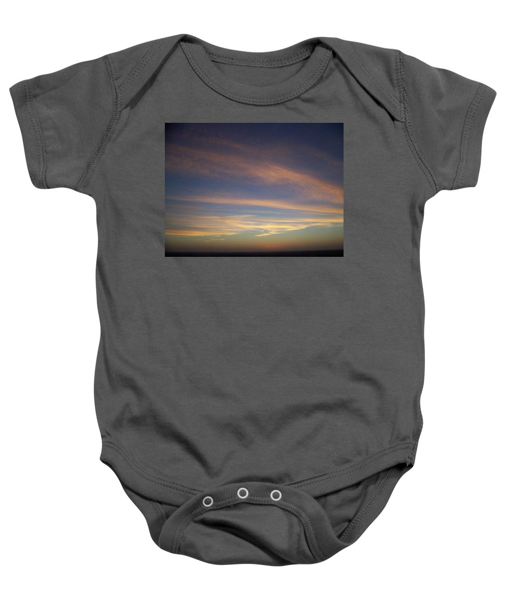 Sunset Baby Onesie featuring the photograph Sunset 0039 by Laurie Paci
