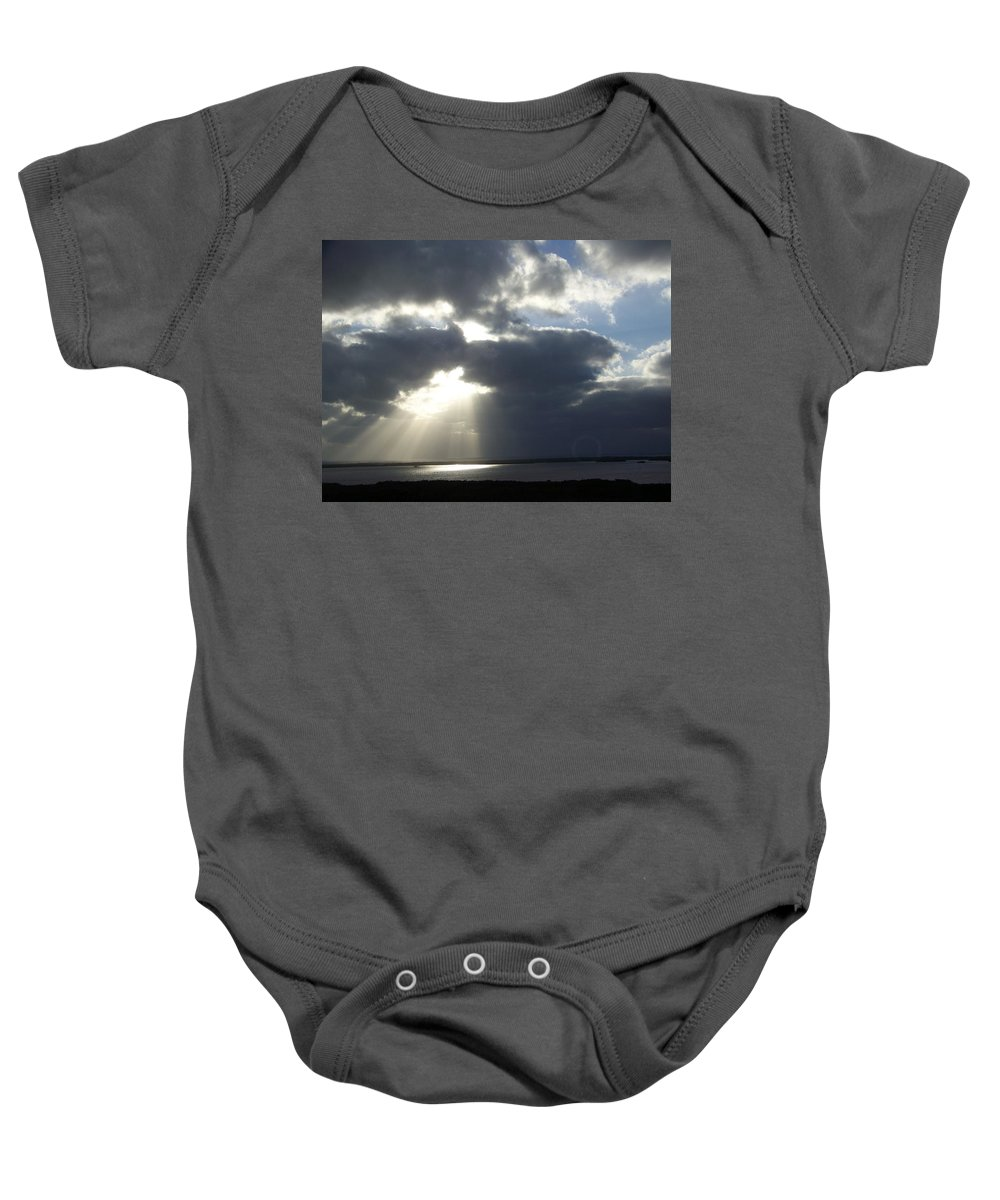 Sunset Baby Onesie featuring the photograph Sunset 0041 by Laurie Paci