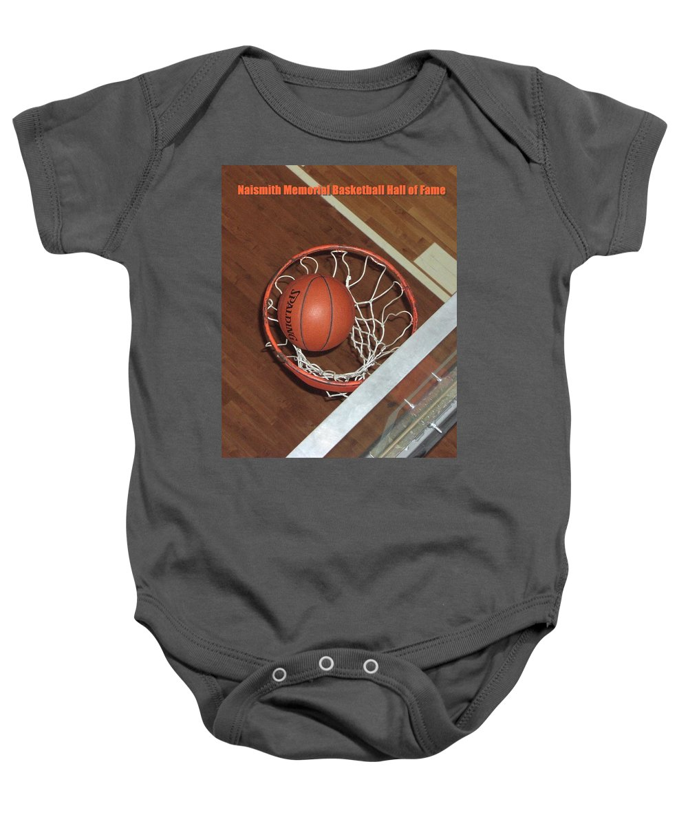 Sports Baby Onesie featuring the photograph Swish by Mike Martin