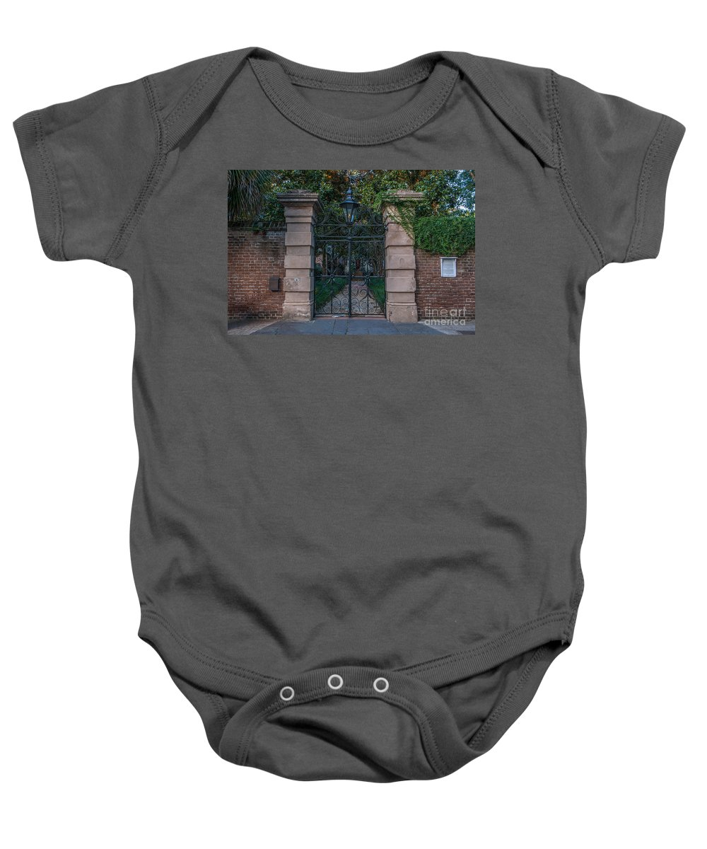 Sword Baby Onesie featuring the photograph Sword House by Dale Powell