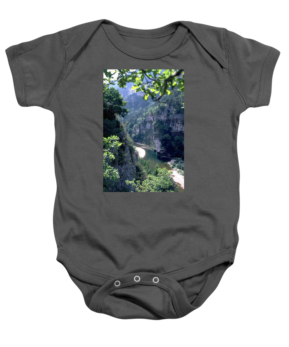 France Baby Onesie featuring the photograph Tarn by Flavia Westerwelle