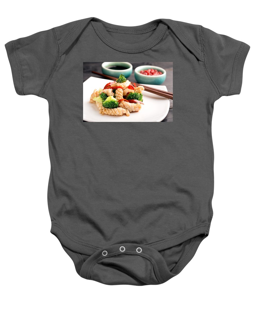 Vadim Goodwill Baby Onesie featuring the photograph Taste Of China by Vadim Goodwill