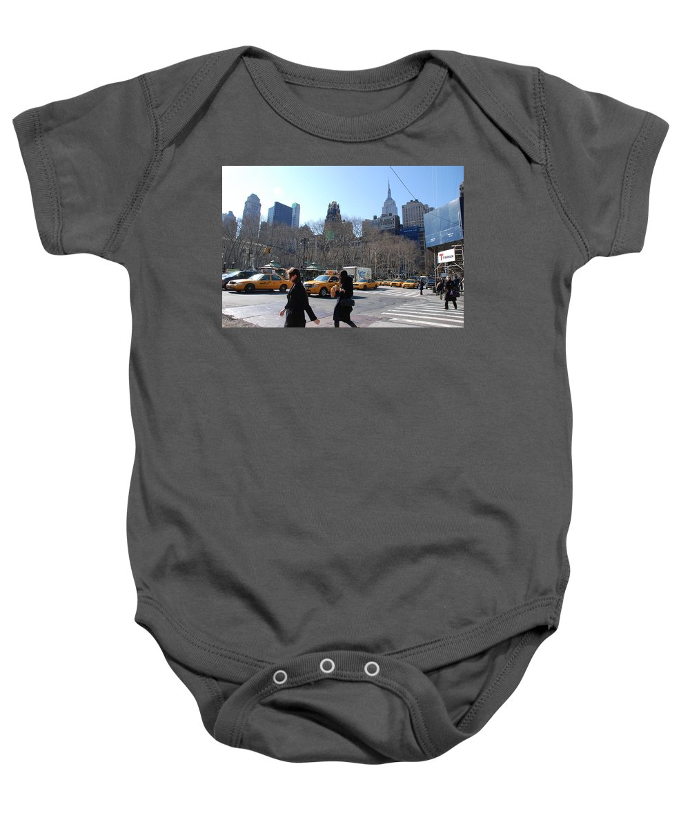 Taxi Baby Onesie featuring the photograph Taxi Anyone by Rob Hans