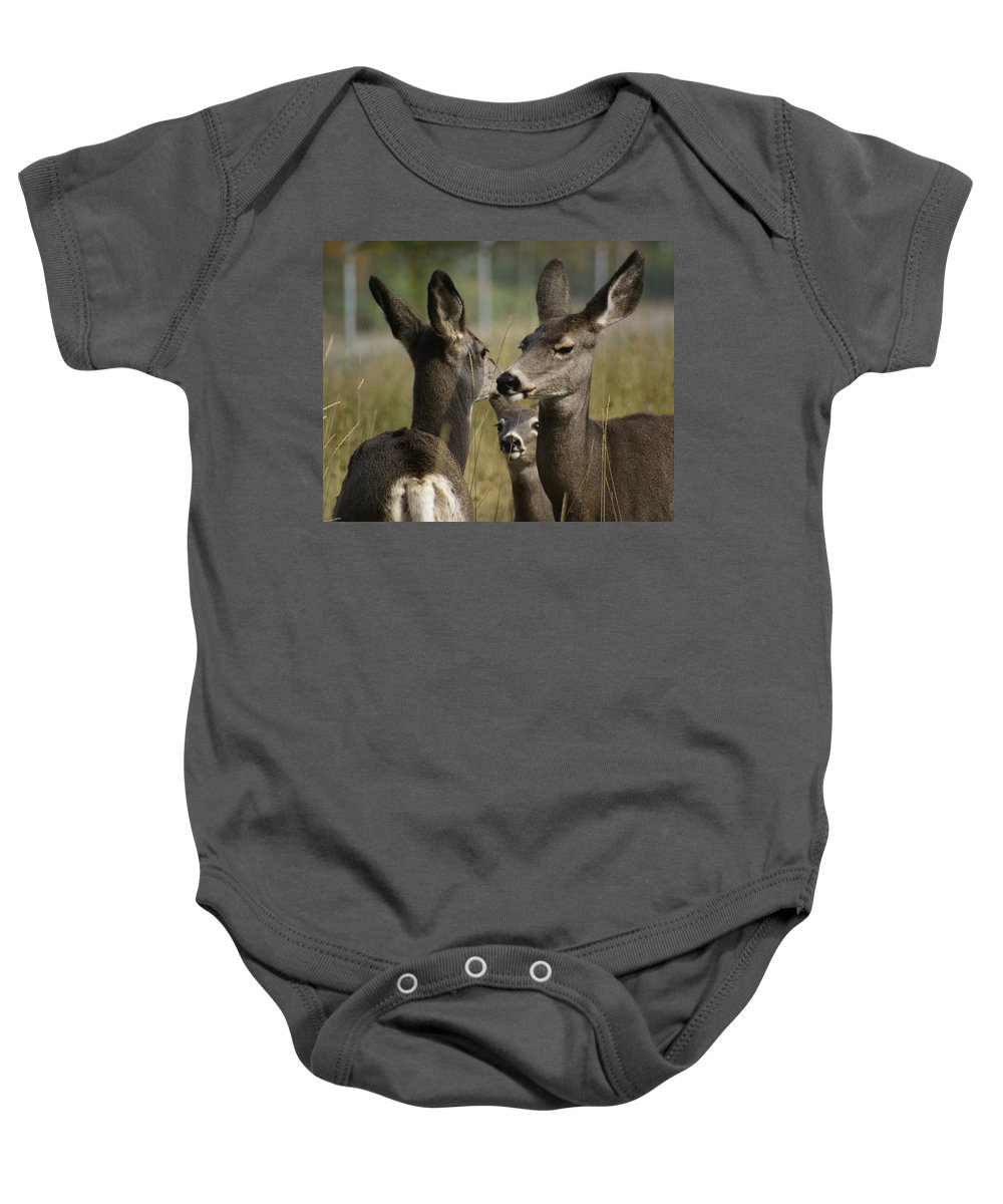 Spokane Baby Onesie featuring the photograph Teach Your Children Well by Ben Upham III