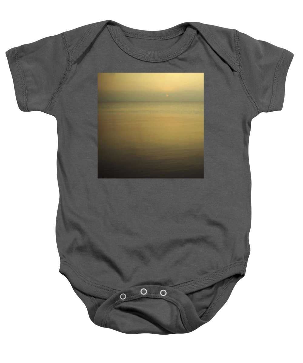 Blur Baby Onesie featuring the photograph Tell Me If You Know All This by Dana DiPasquale