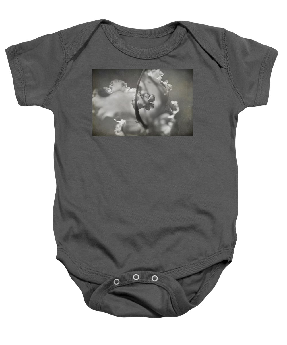 Flower Baby Onesie featuring the photograph Tenderness by Laurie Search