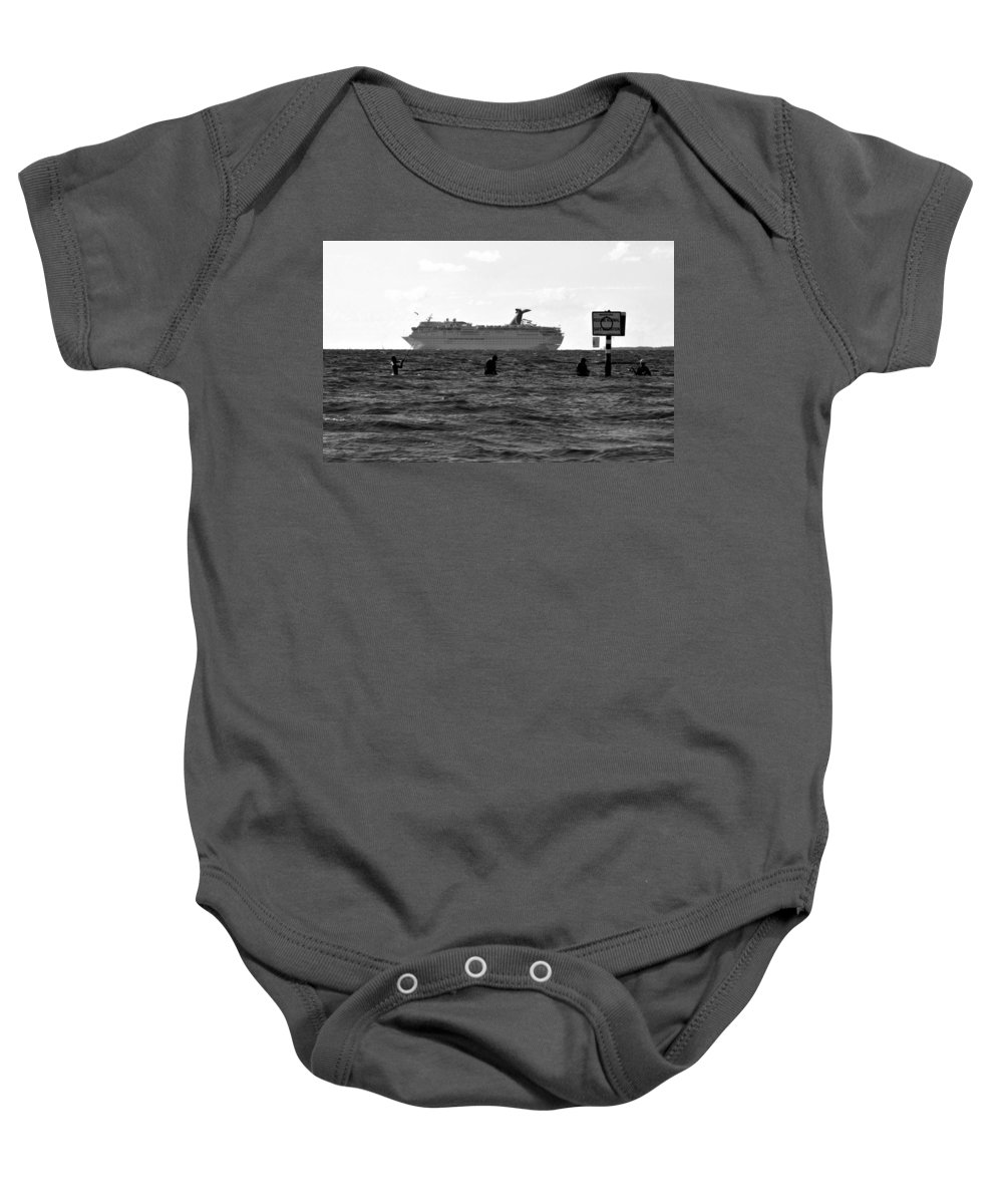 Fishing Baby Onesie featuring the photograph The Big Catch by David Lee Thompson
