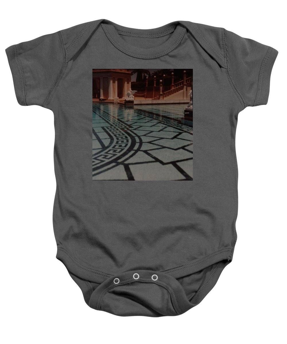 Sculpture Baby Onesie featuring the photograph The Biggest Pool by Rob Hans