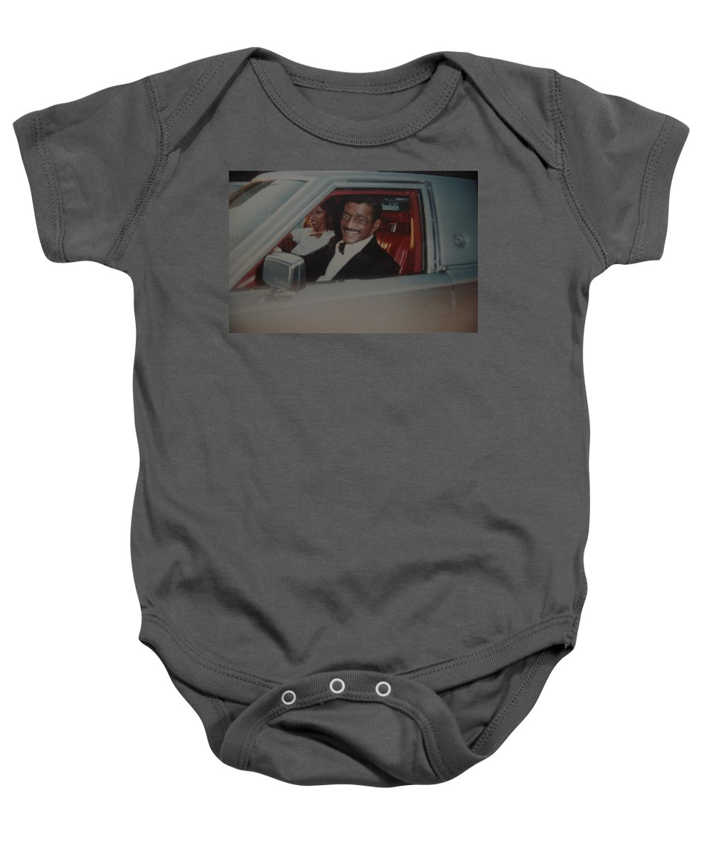 Movie Star Baby Onesie featuring the photograph The Candy Man by Rob Hans