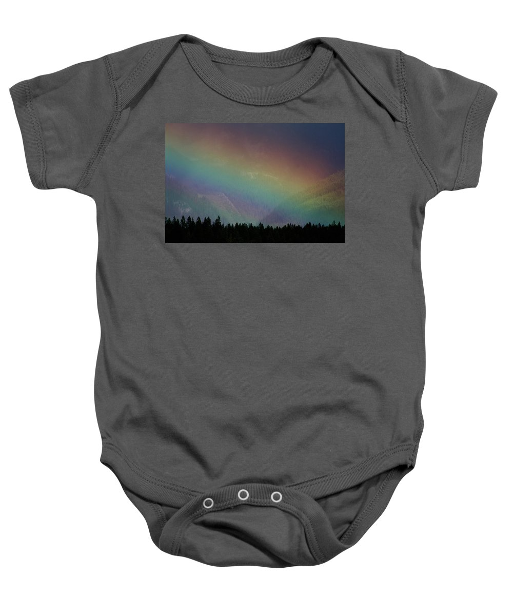 The Promise Baby Onesie featuring the photograph The Covenant by Cathie Douglas