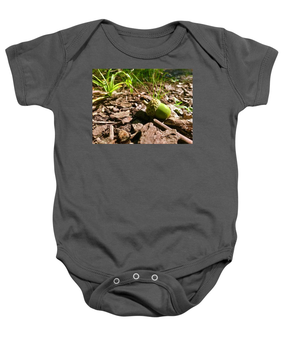 Baby Onesie featuring the photograph The Future by Charles Duax