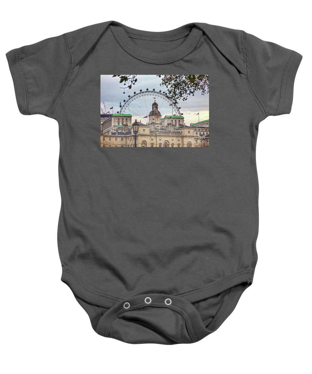 National Gallery London Baby Onesie featuring the photograph The Household Cavalry Museum 7 Art by Alex Art and Photo