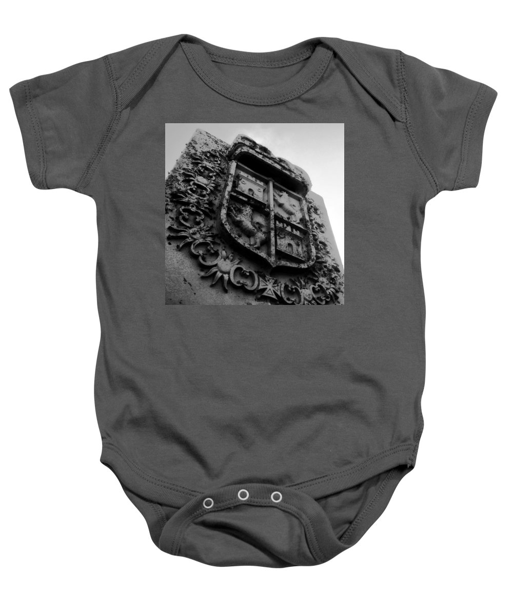 Crest Baby Onesie featuring the photograph The Kings Crest by David Lee Thompson