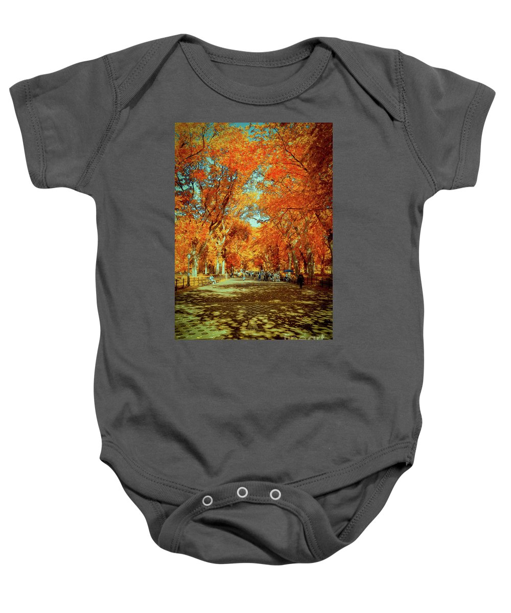Mall Baby Onesie featuring the photograph The Mall by Rjd Photography