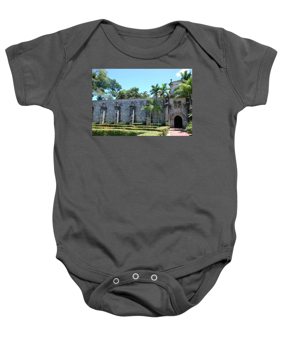Florida Baby Onesie featuring the photograph The Miami Monastery by Rob Hans