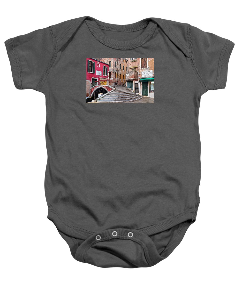 Italy Baby Onesie featuring the photograph The Old Country by Frozen in Time Fine Art Photography