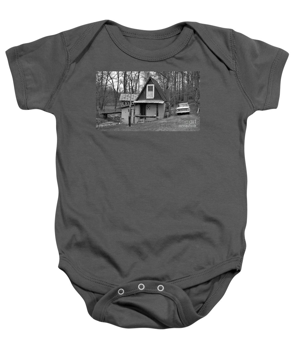 Mill Baby Onesie featuring the photograph The Old Mill by Richard Rizzo