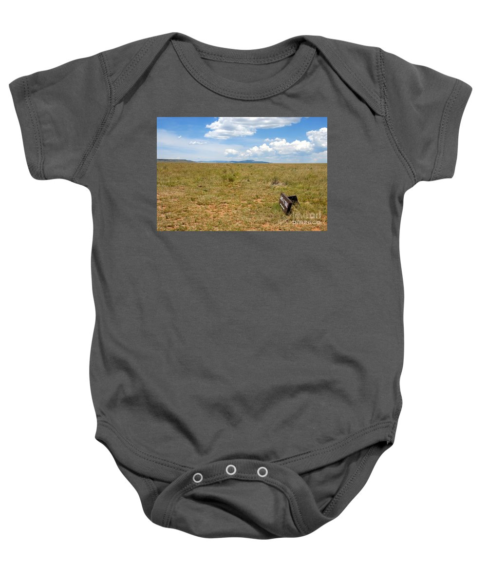 Santa Fe Trail Baby Onesie featuring the photograph The Old Santa Fe Trail by David Lee Thompson