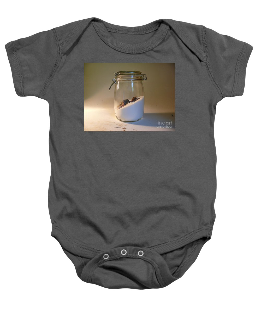 Still Life Baby Onesie featuring the photograph The Preserver by Charlie Mclenahan