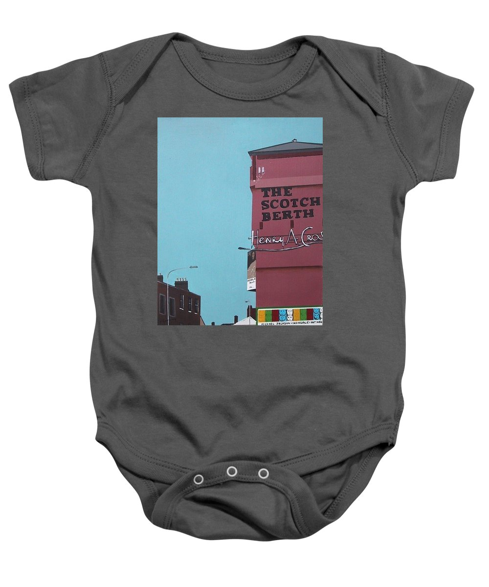 Scotch Berth Baby Onesie featuring the painting The Scotch Berth by Tony Gunning