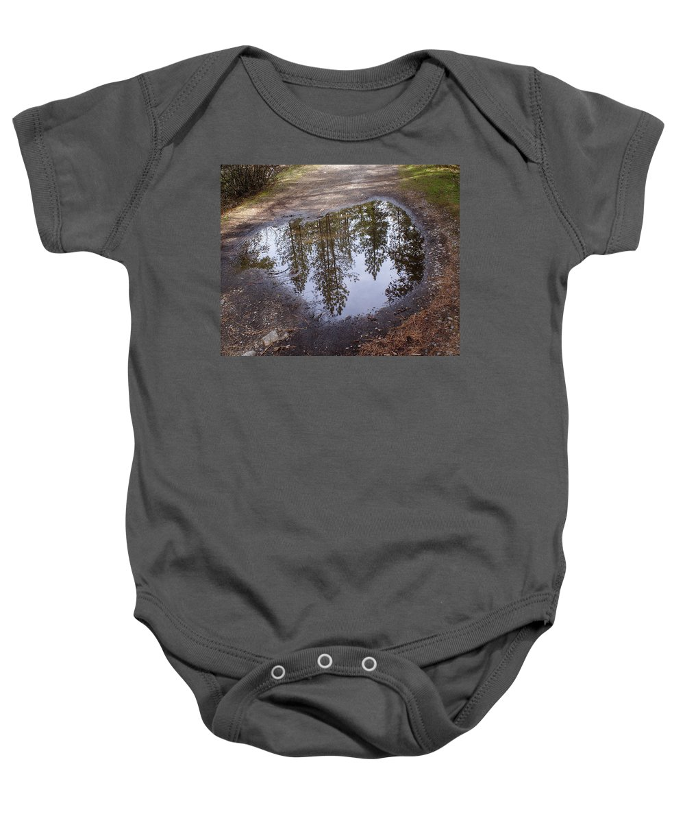 Nature Baby Onesie featuring the photograph The Sky Below by Ben Upham III