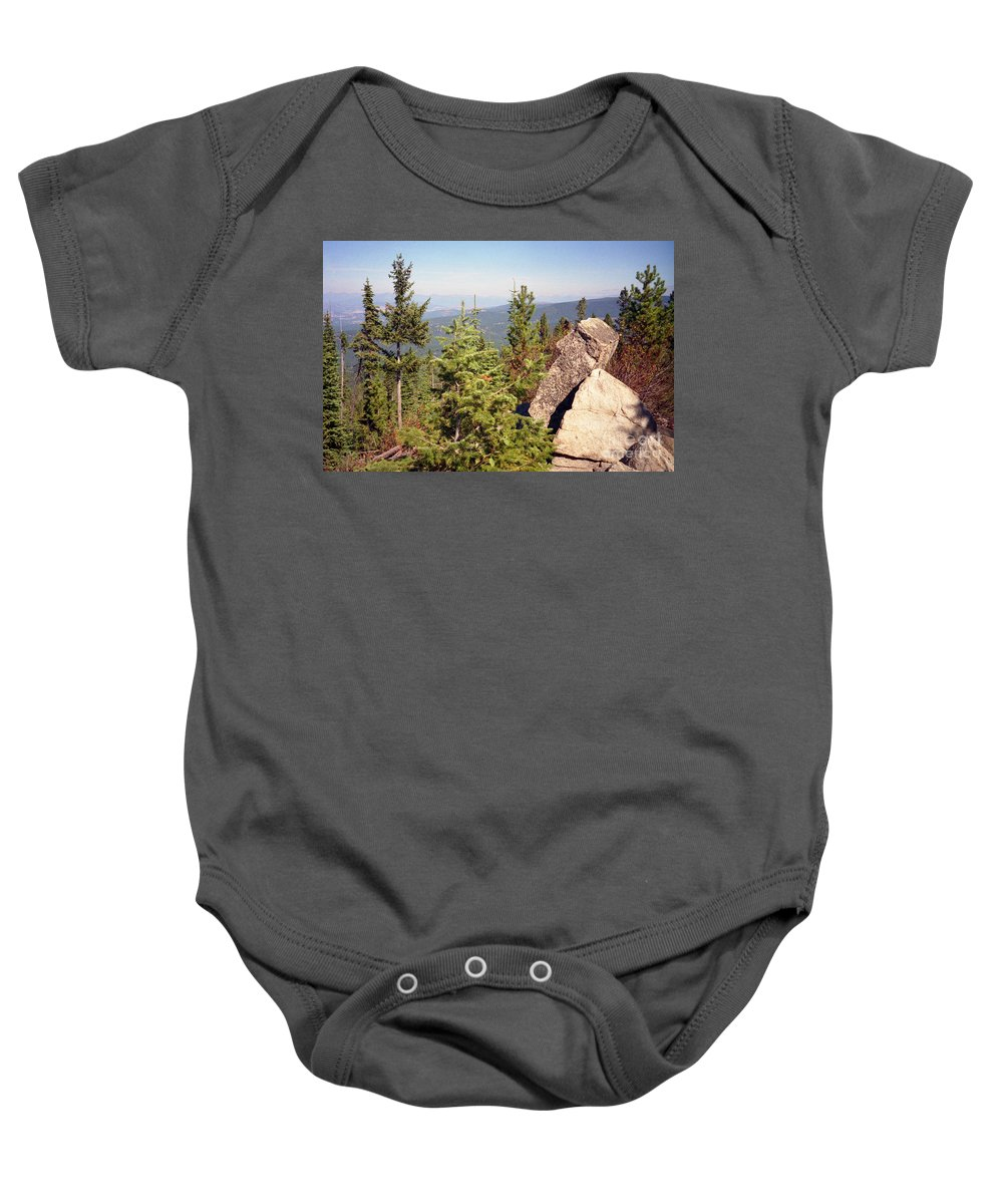 Landscapes Baby Onesie featuring the photograph The Star Gazer by Richard Rizzo