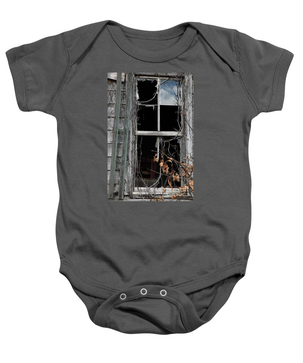 Windows Baby Onesie featuring the photograph The Window by Amanda Barcon