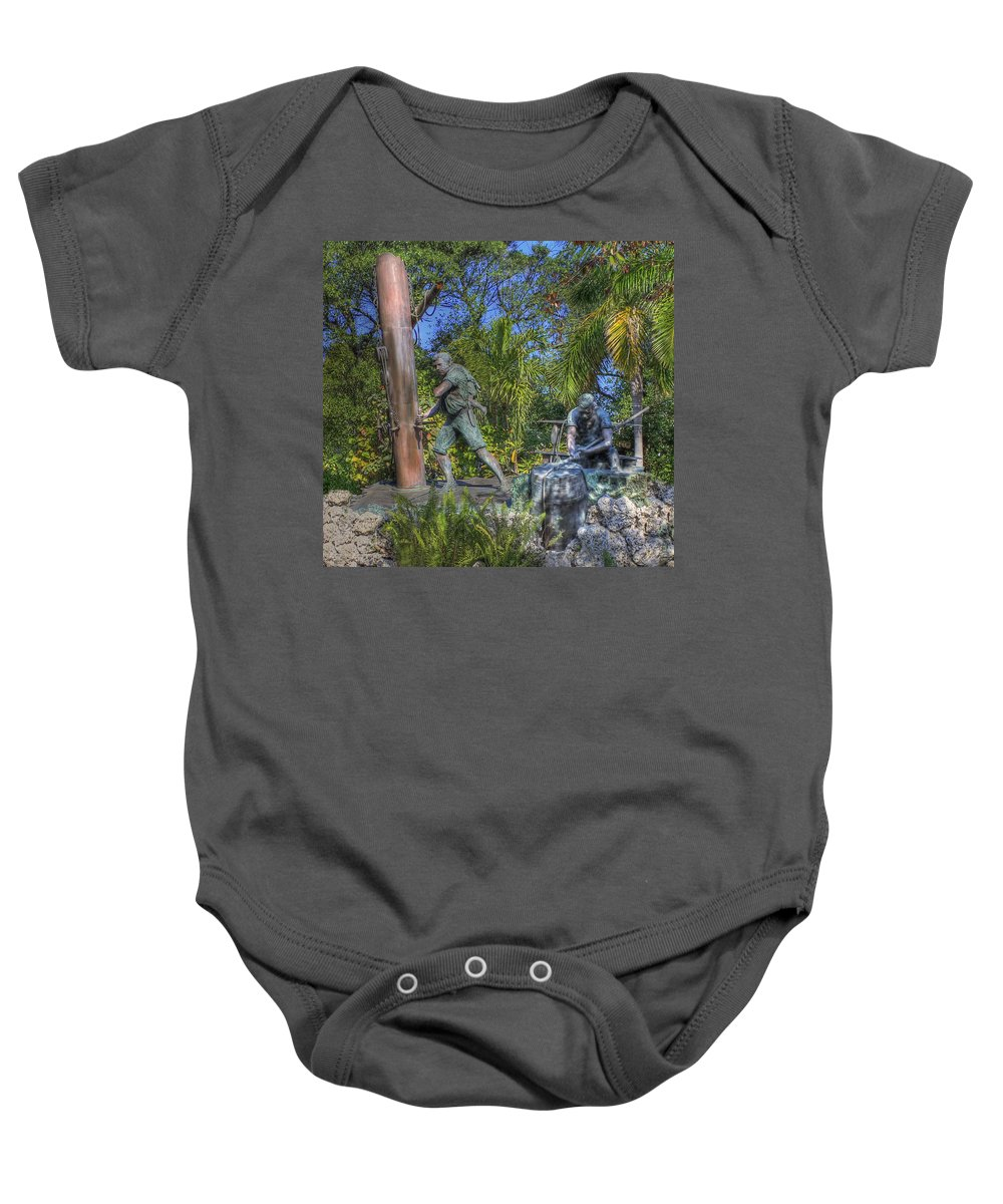 Key West Baby Onesie featuring the photograph The Wreckers by Shelley Neff