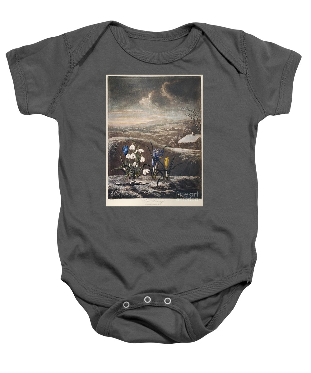 1799 Baby Onesie featuring the photograph Thornton: Crocusi by Granger