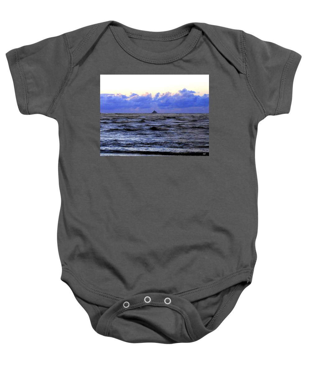 Lighthouse Baby Onesie featuring the photograph Tillamook Rock Lighthouse by Will Borden