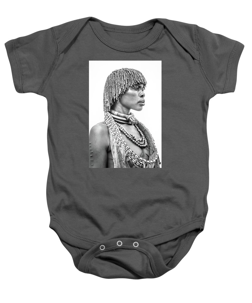 Baby Onesie featuring the drawing tip by Bugembe Robert