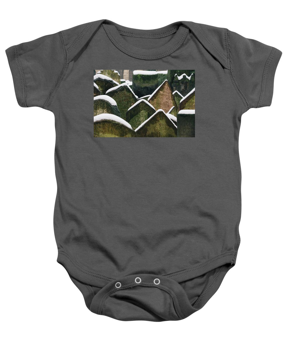 Tomb Baby Onesie featuring the photograph Tombs by Anna Markova