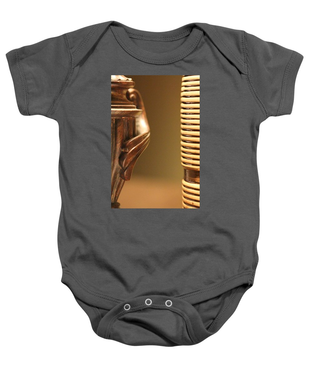 Touch Of Class Baby Onesie featuring the photograph Touch Of Class by Ed Smith