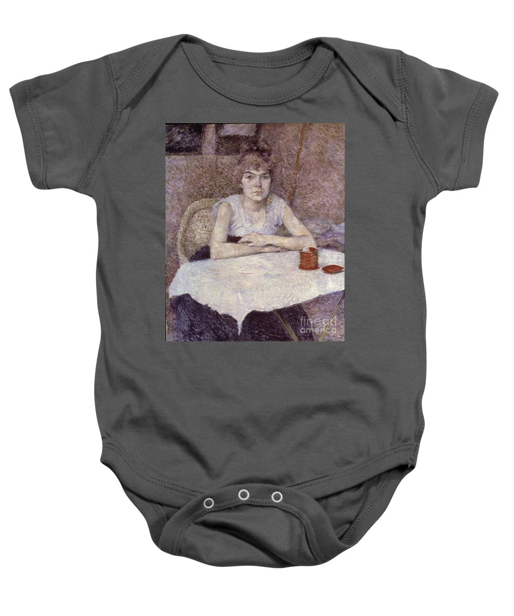 1889 Baby Onesie featuring the photograph Toulouse-lautrec: Powder by Granger