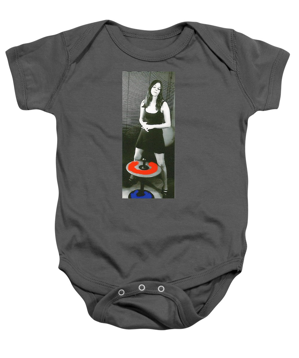 Girl Baby Onesie featuring the photograph Trance by Bjorn Sjogren