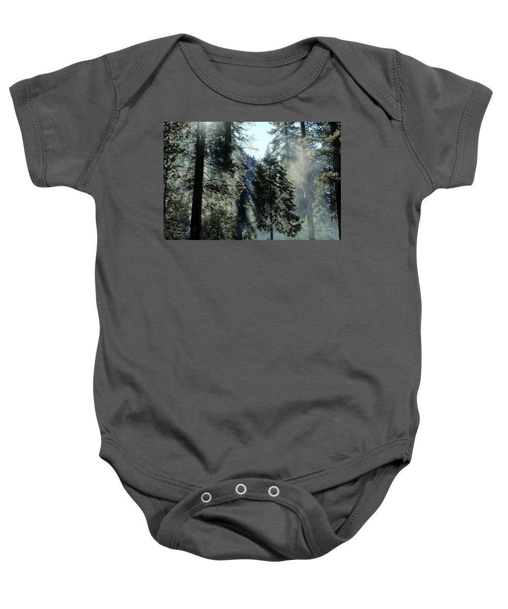Trees Baby Onesie featuring the photograph Tree Breath by Steve Williams