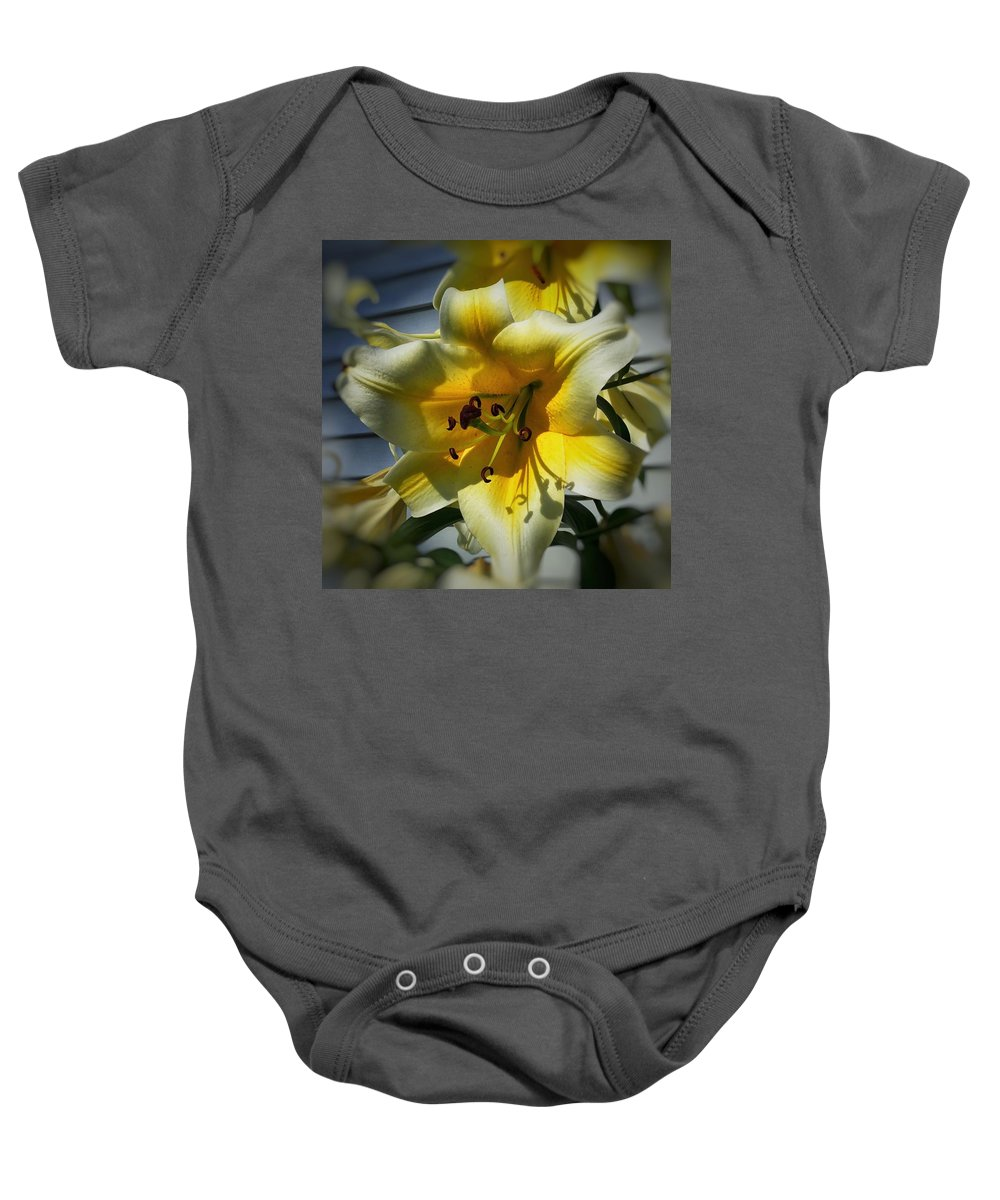 Nature Baby Onesie featuring the photograph Tree Lily by Patricia E Sundik